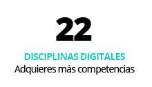 global master 22 disciplinas
