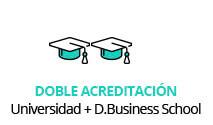 global master doble acreditación