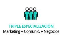 global master triple especialización